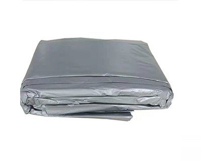 灰色平口垃圾袋