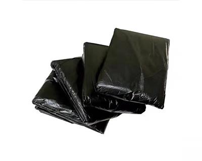 黑色平口大垃圾袋