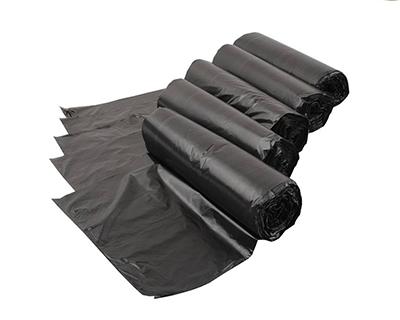 黑色连卷垃圾袋